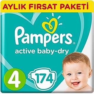 Prima Bebek Bezi Aktif 4 Beden Maxi, 174 Adet