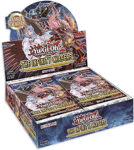 edición limitada en caliente Yu-Gi-Oh  Inch Infinity Chasers Booster Caja de de de visualización de 24 Paquetes  orden ahora disfrutar de gran descuento