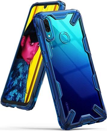 b33af4d93a8 Ringke Fusion-X Compatible con Funda Huawei P Smart Ergon?mico Transparente  [Defensa Provista Ca?da Militar] Firme PC Back TPU Bumper Resistente  Impactos ...