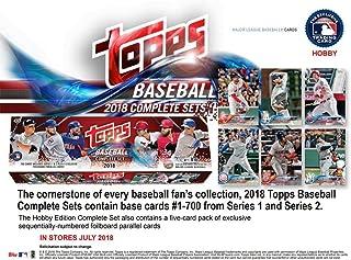2018 Topps Baseball Factory Hobby Set (705 cards with 5 Bonus Parallels)