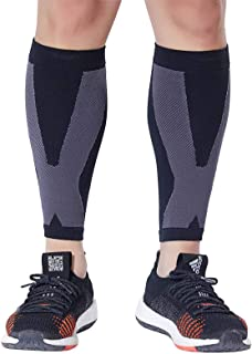 Calf Compression Sleeve 1 Pair - Leg Compression Sleeve for Men and Women (20-30mmHg)