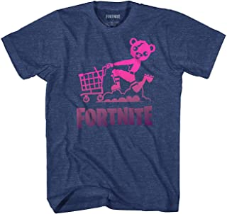 Fortnite Shirt Cuddle Team Leader Shopping Cart Men's Big and Tall T-Shirt