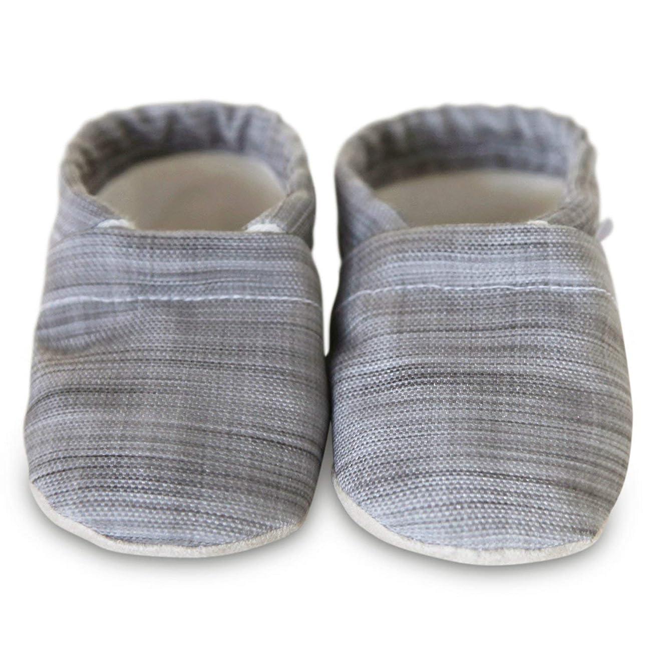 Organic soft soled baby shoes, LANDON