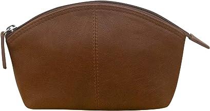 ili New York 6480 Leather Cosmetic Makeup Case