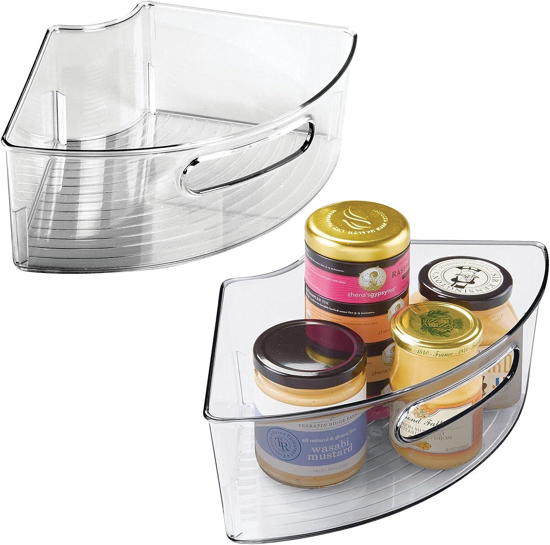 mDesign Deep Plastic Kitchen Ranking TOP10 Cabinet Susan Sale Organize Storage Lazy