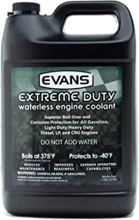 EVANS Cooling Systems EC55001 Extreme Duty Waterless Engine Coolant Created to Military Specifications, 128 fl. oz.