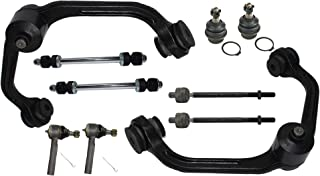 Detroit Axle - Front Upper Control Arms, Lower Ball Joints, Sway Bars, Inner & Outer Tie Rods for 98-11 Ford Ranger 2WD - [01-03 Mazda B2300] - 98-01 B2500 - [98-04 B3000] - 98-03 B4000 1-PC Design
