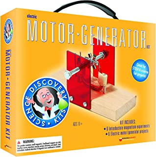 Dowling Magnets Science Discovery Kit: Electric Motor/Generator