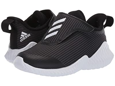 adidas Kids FortaRun AC (Toddler) (Black/White/Grey) Boys Shoes
