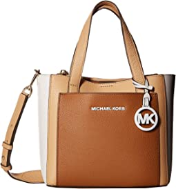 454c149be MICHAEL Michael Kors. Mercer Medium Accordion Convertible Tote. $328.00.  Acorn/Butternut