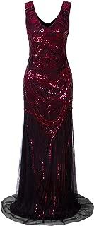 Best mermaid prom dress v neck Reviews