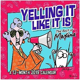 Best maxine 2019 calendar Reviews