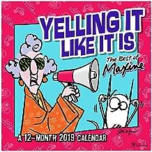 grumpy old lady calendar