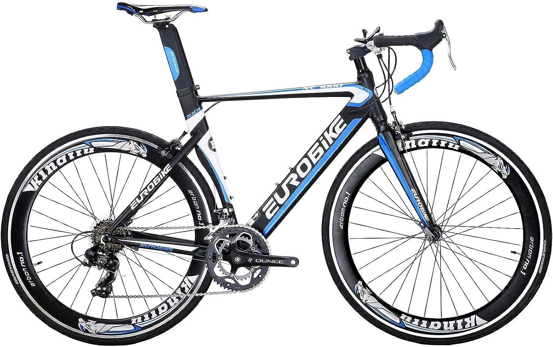 Eurobike Road Bike XLTL-XC7000 Aluminum Ligh San Antonio Mall 14 OFFicial 54CM Frame Speed