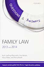 Q & A Revision Guide Family Law 2013 and 2014 (Questions & Answers)