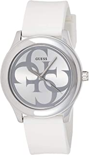 Guess Womens Quartz Watch, Analog Display and Rubber Strap W0911L1