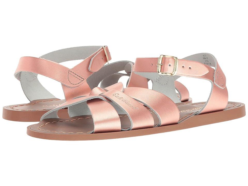Salt Water Sandal by Hoy Shoes The Original Sandal (Big Kid/Adult) (Rose Gold) Girls Shoes