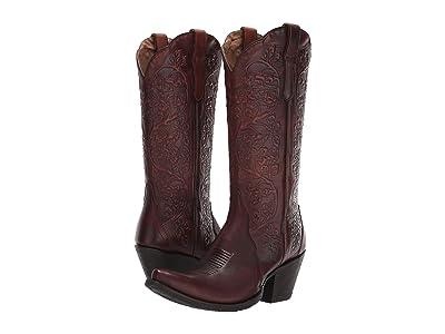 Ariat Platinum (Rich Cognac) Cowboy Boots
