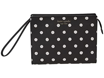 Kate Spade New York Spencer Dots Wristlet with Gusset