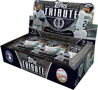 2017 Topps Tribute MLB Baseball box (6 pk)