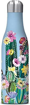 Studio Oh! 17 oz. Insulated Stainless Steel Water Bottle, Desert Blossoms