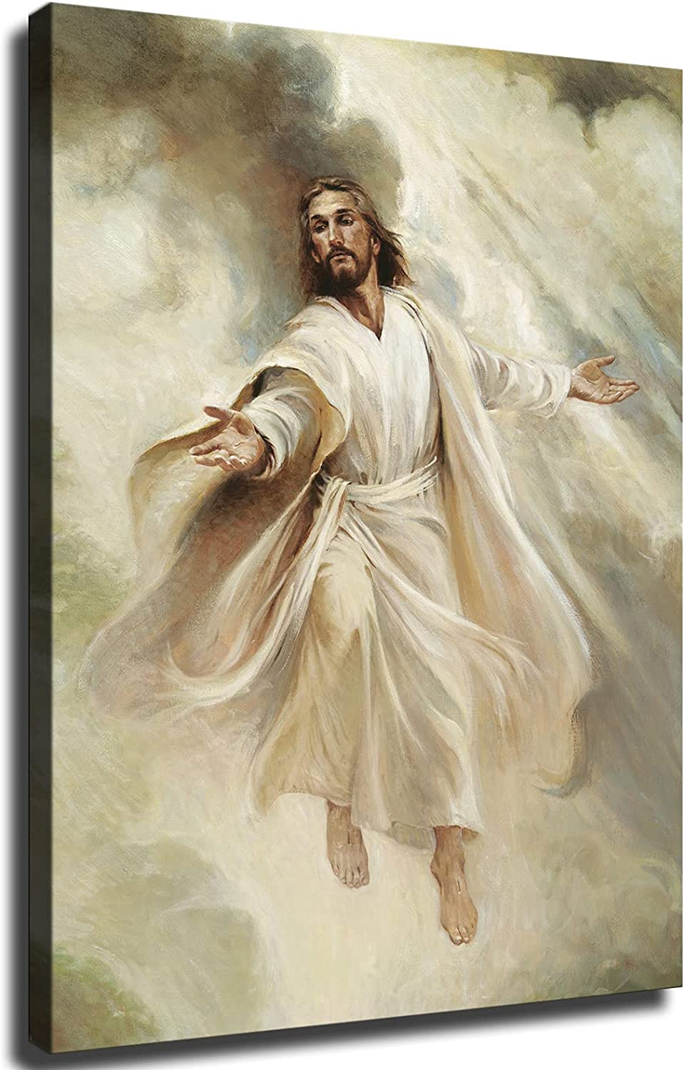 Sales of SALE items from new works Jesus reaches out Long Beach Mall the hand Poster Print Canvas salvation Wall