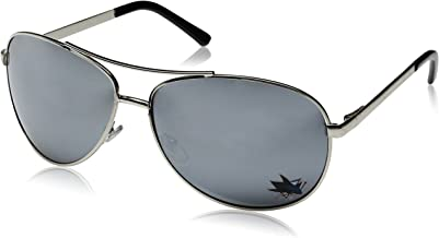 Siskiyou NHL San Jose Sharks Aviator Sunglasses
