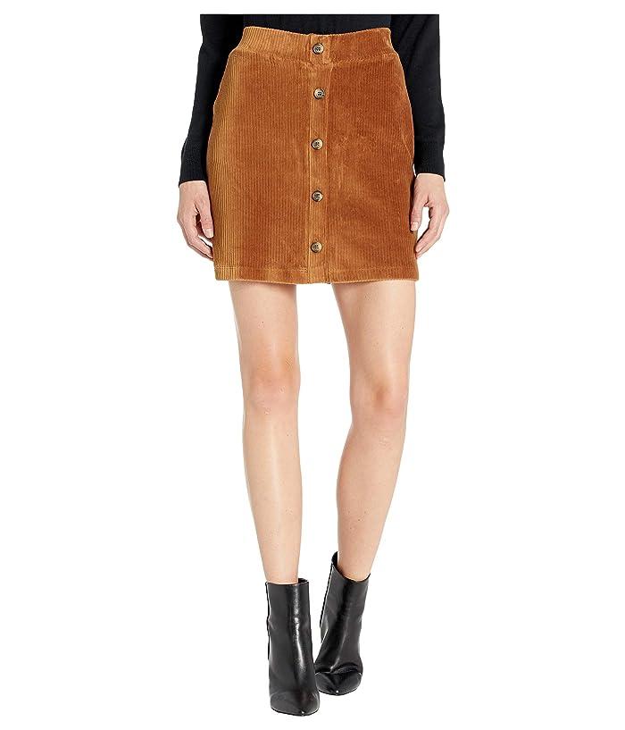 UNIONBAY Knit Cord Paris Skirt