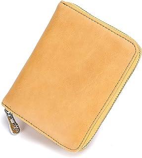 Organizer Rfid Credit Card Holder Leather Wallet Women Passport Business Card Case