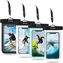 ProCase Universal Cellphone Waterproof Pouch Dry Bag Underwater Case for iPhone 12 Pro Max 11 Pro Max Xs Max XR X 8 7 6S, ...