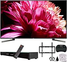 "$3946 » Sony XBR-85X950G 85-Inch Class BRAVIA 4K HDR UHD Smart TV (2019) w/Soundbar Bundle Includes, Deco Gear Home Theater Surround Sound 31"" Soundbar, Flat Wall Mount Kit for 45-90 inch TVs and More"