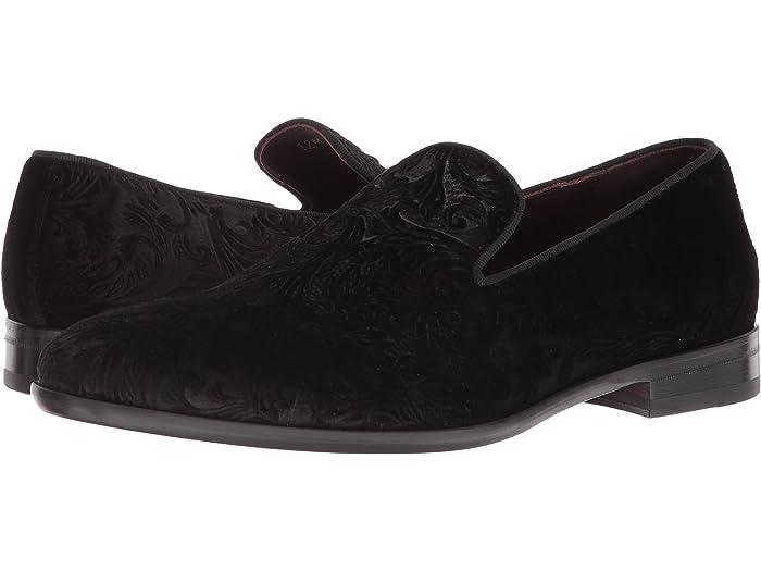 bruno magli black loafers