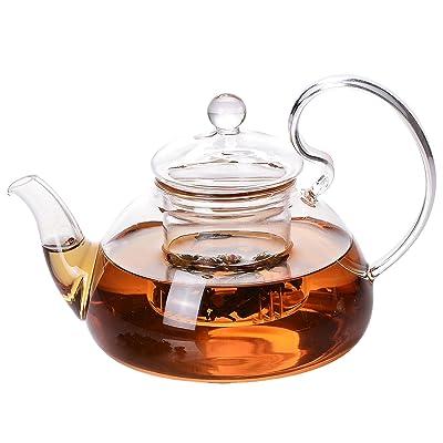 Glass Tea Pot Set