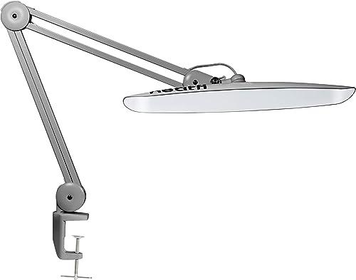 Lampe de bureau Neatfi XL 2 200 Lumières LED avec crampon, Prise Europe, Lampe de bureau 24W Super Brillant, 117PCS S...