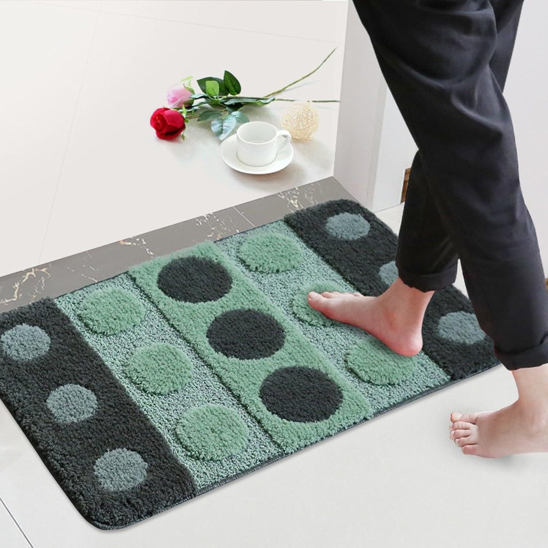 Doormat Bathroom mats Doormat Foot pad The Door,[Hall],Anti-skidding,[Absorbent],Bathroom,Non-Slipping mats-E 80x120cm(31x47inch)