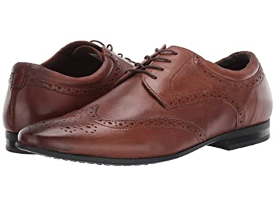 Kenneth Cole Reaction Zeke Lace-Up (Cognac) Men