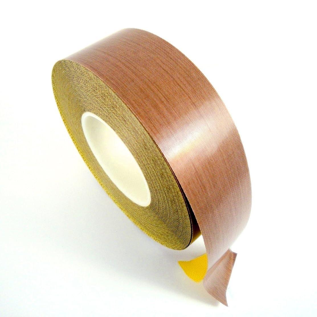 "VViViD High Temperature Resistant Adhesive PTFE Teflon 1/2"" x 33ft Tape Roll for Vacuum or Impulse Sealing Machines"