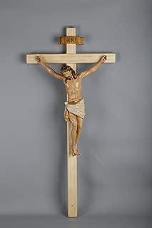 BUILD + 36inch H Crucifix Wood Cross