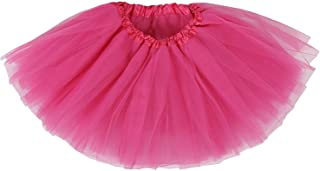 Ksnrang Damen Tütü Rock Minirock 4 Lagen Petticoat Tanzkleid Dehnbaren Mini Skater Tutu Rock Erwachsene Ballettrock Tüllrock für Party Halloween Kostüme Tanzen