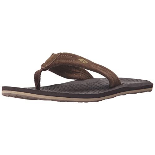 ef54b8123 Sperry top sider men sharktooth thong fisherman sandal brown jpg 500x500 Top  sider flip flops