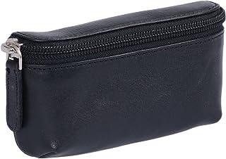 Pequeño bolsa de cinturón, Piel auténtica, negro Travel-Line''
