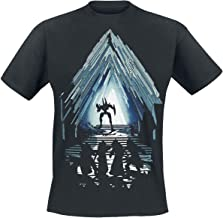 Destiny Vault of Glass Raid Hombre Camiseta Negro, Regular