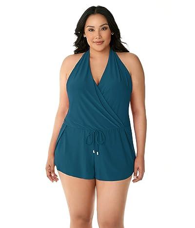 Magicsuit Plus Size Solid Bianca Romper One-Piece Women