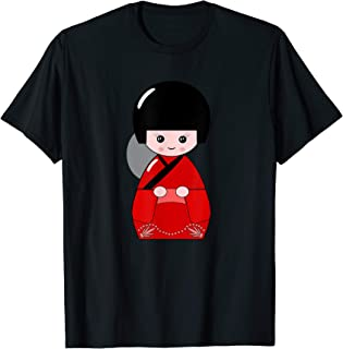 Japanese Kokeshi Doll Image Art Shirt