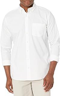 Uniform Men's Young Long Sleeve Button-Down Oxford Shirt