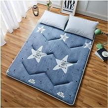 Futon Tatami Mattress,Student Dormitory Folding Mattress,Portable Thicken Pad Tatami Floor mat,Single/Double Mattress,A Va...