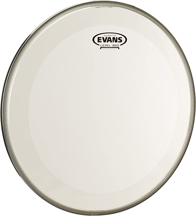 18 Inch Evans EQ4 Frosted Bass Drum Head