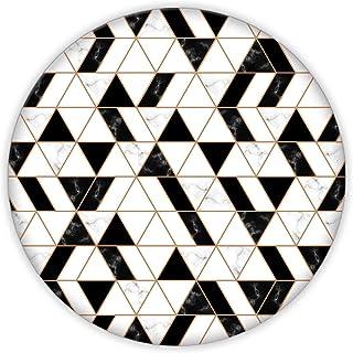 Black Gold | Cam Kesme Tahtası (Çap32 cm)