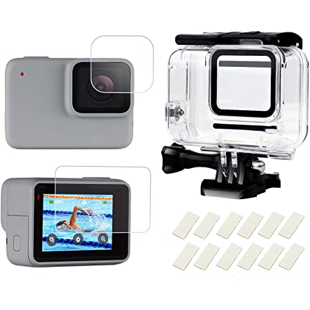 Shoot Waterproof Case For Hero 7 Silver Camera Photo