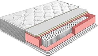 Colchón Soft Confort 90x190 cm de Muelle Ensacado, 22 cm de Altura, Reversible, Independencia de lechos, Firmeza Medio-Alta, Alta Durabilidad